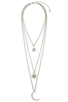 Sky High Necklace - Silver | Necklaces | Gone Trippin' | Back In Stock | Accessories