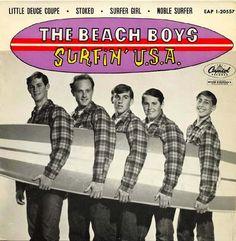 beach boys | Reliquias: The Beach Boys - Surfin' USA