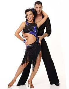 DWTS Season 9 Fall 2009 Debi Mazar  Maksim Chmerkovskiy Placed 12th