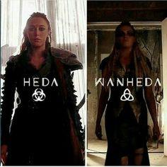 Heda and Wanheda - Commander and Commander of Death