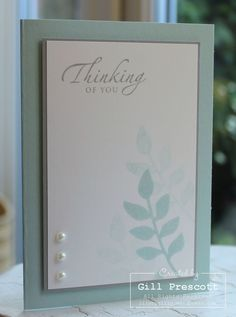 Stampin Up Card Ideas | Secret garden - Stampin' Up! | card ideas