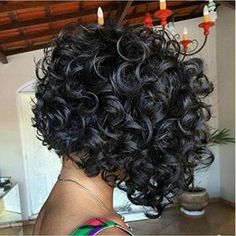 bob hairstyles african american curls Charming Curly Bob Wig Hair Wigs With Baby Black Hair For Women (Color: Black) Short Hair Styles Easy, Medium Hair Styles, Curly Hair Styles, Curly Bob Wigs, Short Curly Hair, Curly Afro, Medium Curly Bob, Easy Hairstyles For Medium Hair, Curly Bob Hairstyles