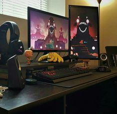 Elegant Computer Game Room Ideas