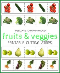 Welcome to Mommyhood: Free fruit and vegetable cutting strips