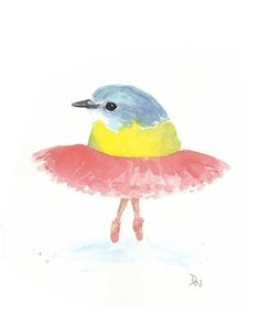 This artist does precious water colors that would look adorable in a nursery.