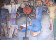 Image result for WPA murals