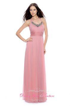 Decode 1.8 181512 blush matte chiffon dress #eveningdresses2013 design by Decode 1.8