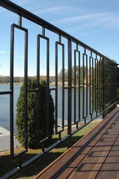 Welded metal railing by welding ottawa