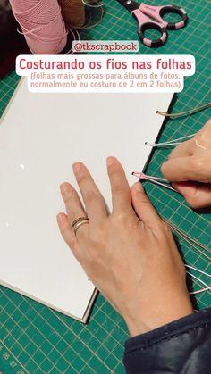 Notebook Diy, Handmade Notebook, Handmade Journals, Scrapbook Journal, Scrapbook Albums, Diy Scrapbook, Diy Agenda, Homemade Books, Bookbinding Tutorial