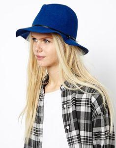 Asos esprit felt fedora hat.