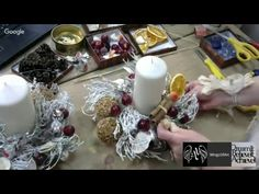 Новогодний венок: как сделать основу из березовых веток - YouTube