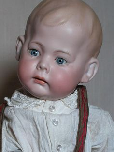 German Character Doll Armand Marseille Fany Bisque Head Composition from annmariesantiquedolls on Ruby Lane
