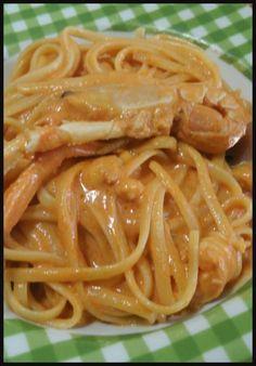Linguine agli scampi , facili e gustosi ! #scampi #primipiatti #primidipesce #ricettegustose Italian Pasta, Italian Dishes, Italian Recipes, Fish Pasta, Pasta Recipes, Cooking Recipes, Maila, International Recipes, Pasta Dishes