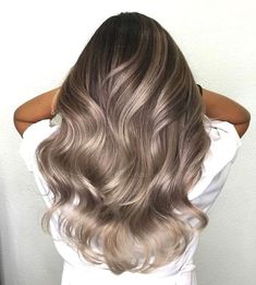balayage hair color fabmood light brown hair color ideas hair colours 2019 2019 hair color trends best hair color for 20 Ash Brown Hair Color, Brown Hair Shades, Brown Blonde Hair, Ombre Hair Color, Light Brown Hair, Hair Color Balayage, Hair Highlights, Gray Hair, Color Highlights