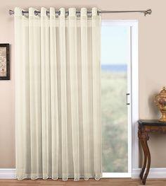 Tergaline Semi Sheer Grommet Patio Panel. French Door CurtainsCurtains ...
