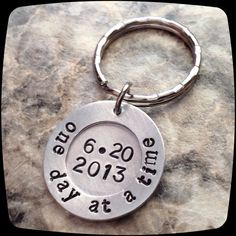 Sobriety Gift One day at a time Sobriety by ThatKindaGirl on Etsy Candy Gifts, Addiction