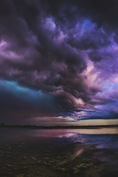 A dark trail of beauty in the sky