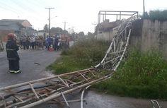 Blog do Osias Lima: Vendaval que atingiu os municípios de Macapá, Sant...