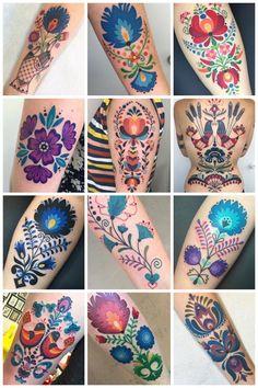 Winston the Whale folk art tattoos van Winston the Whale - body art Love Tattoos, Unique Tattoos, Beautiful Tattoos, Body Art Tattoos, New Tattoos, Tattoos For Women, Sweet Tattoos, Girl Tattoos, Tatoos