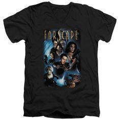 """Checkout our #LicensedGear products FREE SHIPPING + 10% OFF Coupon Code """"Official"""" Farscape / Comic Cover - Short Sleeve Adult V-neck - Farscape / Comic Cover - Short Sleeve Adult V-neck - Price: $34.99. Buy now at https://officiallylicensedgear.com/farscape-comic-cover-short-sleeve-adult-v-neck"""