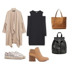 """""""Look #1"""" by bloguerosa ❤ liked on Polyvore featuring Pull&Bear, Zara and MANGO"""