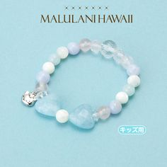 Hello Kitty × Maruranihawai parent and child bracelet for kids Blue Sanrio online shop - official mail order site