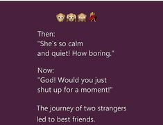 Love Breakup Quotes, Real Love Quotes, Badass Quotes, Funny Quotes, Crazy Quotes, Besties Quotes, Best Friend Quotes, Friend Memes, Friend Birthday Quotes