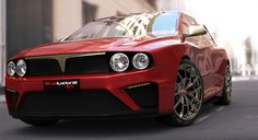 Lancia Delta HF Integrale Concept, rendering - Immagine 13 - Play - Motori.it