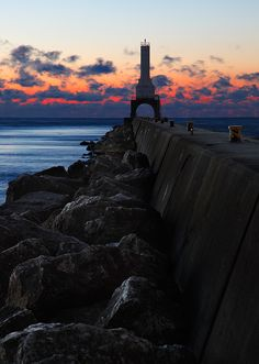 Port Washington Pierhead Lighthouse, Wisconsin