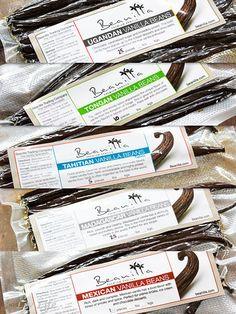 Vanilla Beans from Beanilla Homemade Hot Chocolate, Homemade Vanilla, Homemade Desserts, Eggless Vanilla Cake Recipe, Vanilla Extract Recipe, Cinnamon Cheesecake, Cheesecake In A Jar, No Bake Chocolate Desserts, Lemon Ice Cream