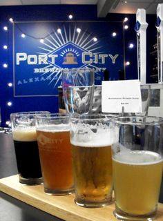 Alexandria's Port City Brewing. The Essential Pale Ale is my favorite.
