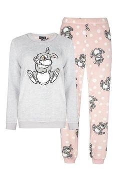 Pyjama sherpa imprimé Panpan