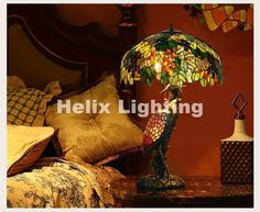 (500.51$)  Watch more here - http://aivo6.worlditems.win/all/product.php?id=32797735449 - Free Shipping Tiffany Table Lamps D51cm H86cm Luxurious Ancient Garden E27 Bedside Lamps Living Room Decoration Bedroom Lamp