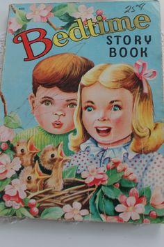 Vintage Bedtime Story Book
