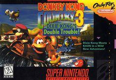 Donkey Kong Country 3 SNES Super Nintendo