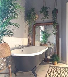 home PS Nation home home PS.Nation home home PS. Trending Small Bathroom Ideas 2018 [Ideas For Small Bathrooms, Small Bathroom Trends Small Bathroom Decor, Tile Subway Bathroom, Indoor Pla Minimalist Bathroom, Minimalist Decor, Style At Home, Architectural Styles, Bathroom Plants, Bathrooms With Plants, Garden Bathroom, Bathroom Interior, Eclectic Bathroom