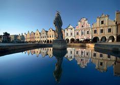 The square in Telč