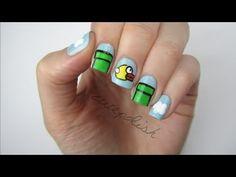 FLAPPY BIRD NAILS!!! - YouTube