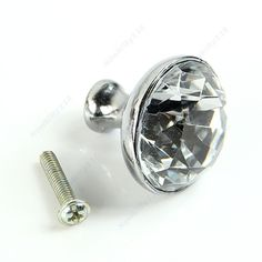 Amy 1pc 30mm Crystal Glass Pull Handle Drawer Cabinet Cupboard Knob  A111 Nice Gifts