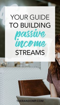 Create online passive income streams and get money while you sleep! In this guide to building passive income streams Ive covered getting started with affiliate marketing, affiliate network suggestions, great affiliate programs to join, how to start an online course, where to build your course, how to create an e-product and where to sell online products. All of that and much more in Passive Income Simplified: www.therandomp.com/passive-income-simplified