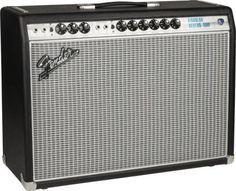 Fender '68 Custom Vibrolux Reverb Guitar Combo Amplifier: This tribute to the classic Fender amp offers a vintage channel with traditional Vibrolux voicing, plus a custom channel offering Bassman tones.