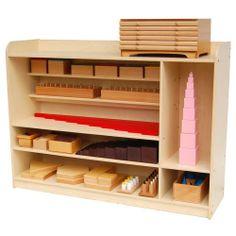 Nienhuis Montessori Furniture Sensorial Cabinet 101