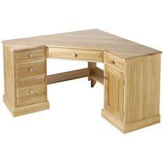 Small Corner Computer Table