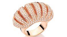 Rose Gold and Diamond Ring | Anel Canto da Sereia for CARLA AMORIM | {đιåмσиđѕ&ρєåɾℓѕ}