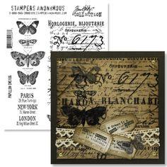 Papillion Stamp Set (Tim Holz)