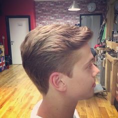 Gents scissor cut by Mens Hairstyles Fade, Undercut Hairstyles, Haircuts For Men, Best Short Haircuts, Modern Haircuts, Wedding Hairstyles, Men's Hairstyle, Tapered Haircut, Fade Haircut