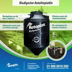 El Biodigestor mejora la calidad de vida de las comunidades de bajos recursos, no contamina el medio ambiente y reemplaza el uso de fosas sépticas.