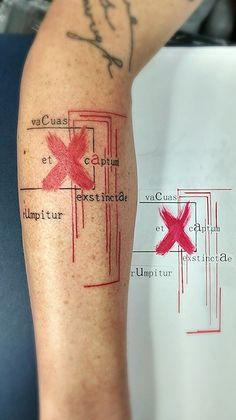 grafic tattoo by Mel van Hel aka Electronic-Sin.deviantart.com on @deviantART