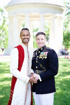 Meet Simon McNorton and Justin Johnson.   This Non-Traditional Wedding Will Hit You Right In The Feels
