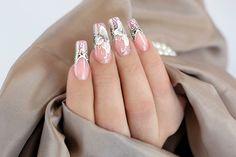 #Crystalnails #Nägel #nagelstudio #nailart #Muster #GelNägel #babyboomer #NagelstudioWien #Gelnägel  #CrystalNailsÖsterreich